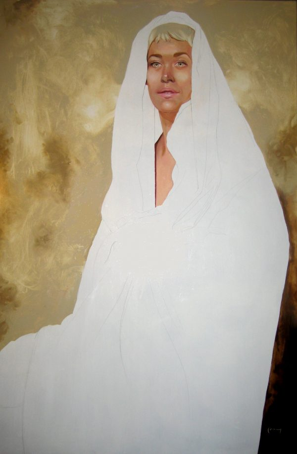 """Cloaked, 37"""" x 53"""""""