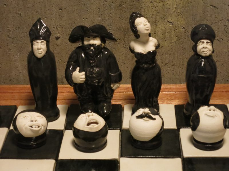 Above the Sea Chess Set